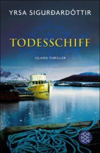 """´Yrsa Sigurðardóttir: """"Todesschiff"""""""